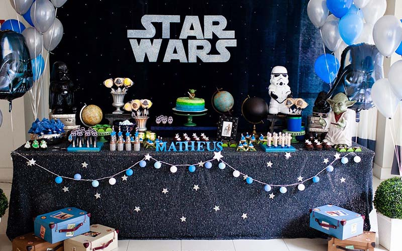 eadfaf75f Ideas para crear tu fiesta infantil Star Wars · Cumpleaños infantiles